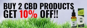 Buy 2 CBD products and get 10% off.
