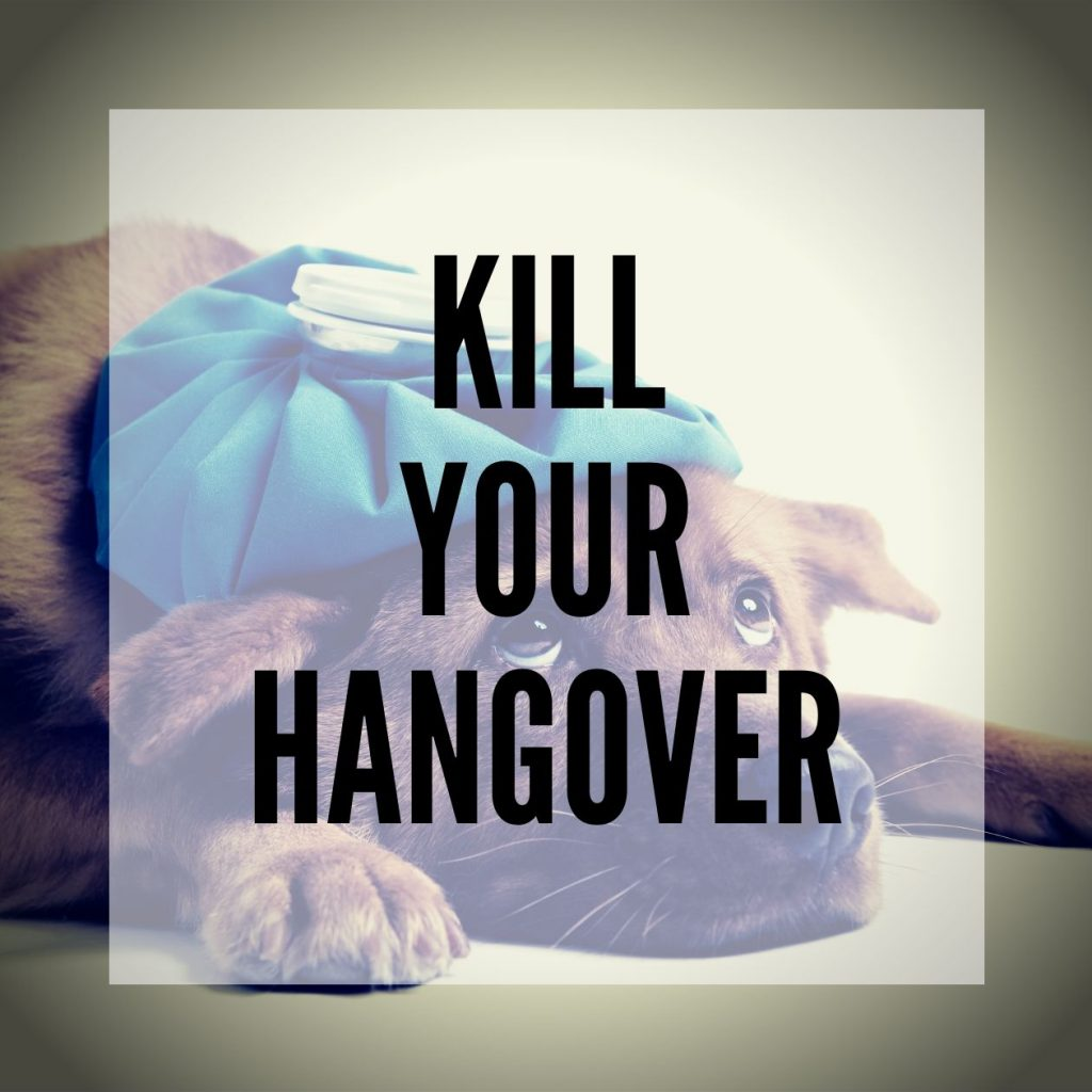 Best Hangover Cures - Kill Your Hangover blog post - smartific blog