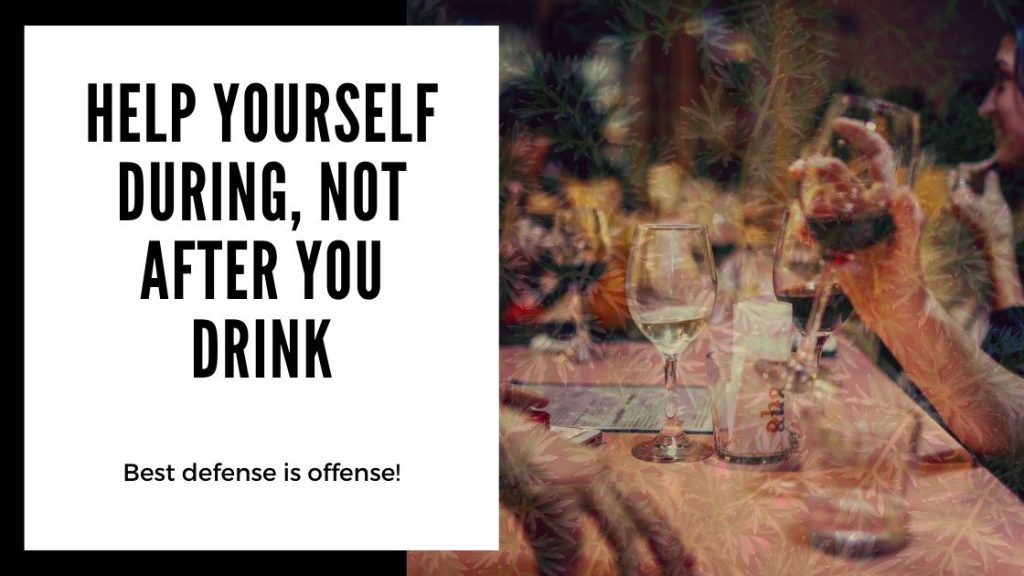 Best Hangover Cures - help yourself during, not after you drink - Smartific blog